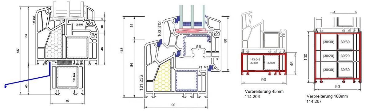 Menuiseries PVC et mixtes PVC-aluminium