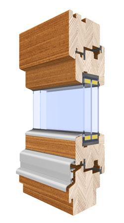 menuiseries passives bois, fenêtres et portes